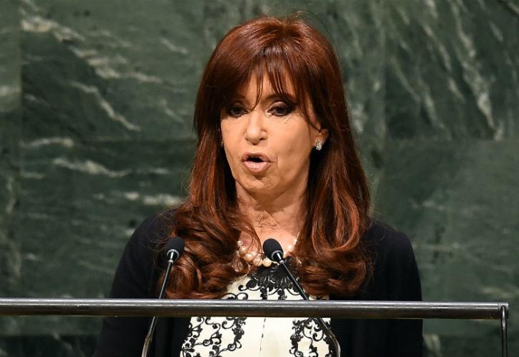 Cristina ante la ONU