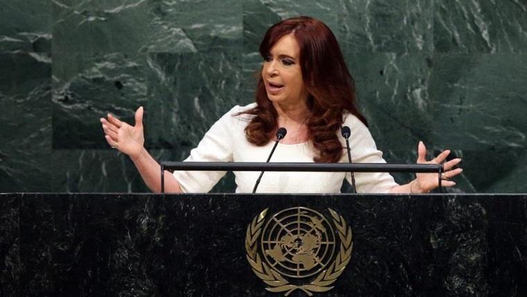 Crstina en la ONU