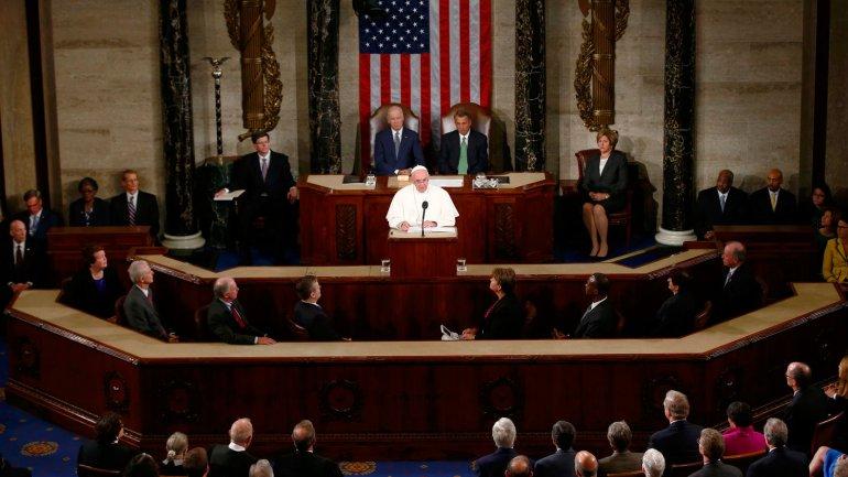 El Papa Francisco en el Congreso de los Estados Unidos