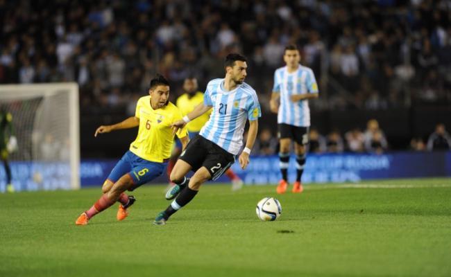 Argentina cayo frente a Ecuador 2